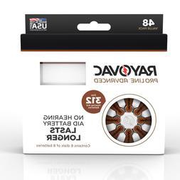Rayovac Mercury Free Size 312 Hearing Aid Batteries