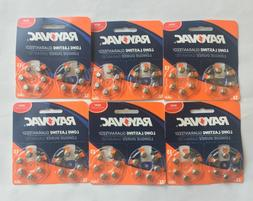Rayovac Size 13 Mercury-Free Hearing Aid Batteries, 12-Pack