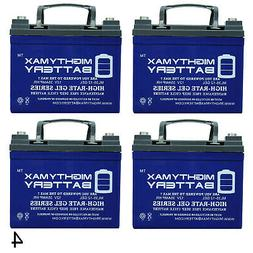 Mighty Max 12V 35AH GEL Battery Replacement for BatteryGuy B