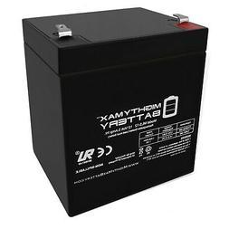 Mighty Max ML5-12 - 12V 5AH SLA Battery for Casil Ca1240 Ala