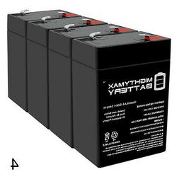 Mighty Max 6V 4.5AH SLA Battery Replacement for BatteryGuy B