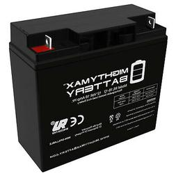 Mighty Max 12V 18AH SLA Replacement Battery for Powerland 10