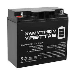 Mighty Max 12V 18AH SLA Battery Replacement for BatteryGuy B