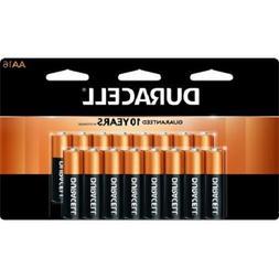 Duracell Coppertop AA Alkaline 16 Batteries MN1500, Packagin