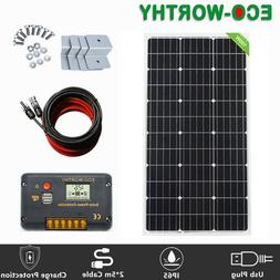 100W 12V Mono Solar Panel for off Grid Solar System Kit for