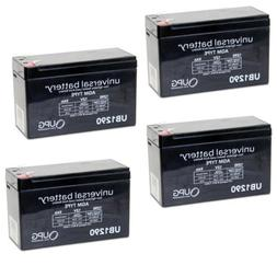 NEW 4 PACK UB1290 12V 9AH SLA Battery Replacement for VICI W