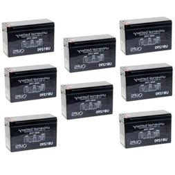 NEW 8 PACK UB1290 12V 9AH SLA Battery Replacement for VICI W