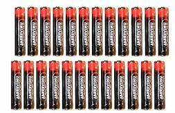 Universal Electronics AAA Batteries, 1.5V Pack of 24 Batteri