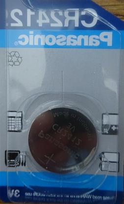 New Panasonic CR2412 3v lithium watch battery car key fob ga