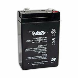 New Casil Genuine CA631 6V 3.1Ah SLA Battery for 7845GSM-K14