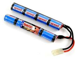Tenergy 9.6V NiMH 1600mAh Rechargeable Butterfly Battery Pac