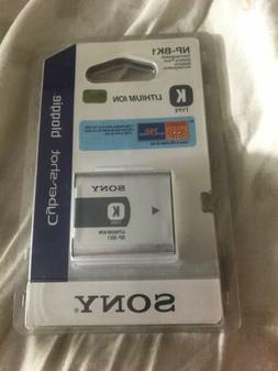 Sony NP-BK1 Rechargebale Battery Pack For Cybershot Cameras