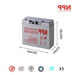 NPP 12V 18Ah Rechargeable Deep Cycle Scooter Battery D5745 4