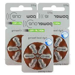 Power One 312 Size Hearing aid batteries Zinc air Mercury fr