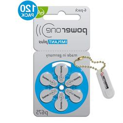 Power One Cochlear Implant Batteries Size: 675P  + KeyChain/