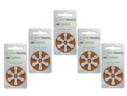 Powerone Hearing Aid 312 Genuine Batteries German Made,Multi