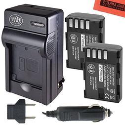 BM Premium 2-Pack of DMW-BLF19, DMW-BLF19e, DMW-BLF19PP Batt