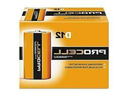 Duracell PROCELL Alkaline Battery D 12 Pack  410698