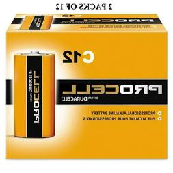 Duracell Procell C Alkaline Batteries - 24 Pack Expires 03/2