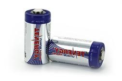 Tenergy Propel CR123A Lithium Battery with PTC Protected  -