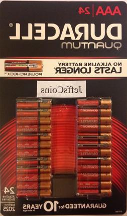 DURACELL QUANTUM  AAA Batteries with Power Check ) Expire 20