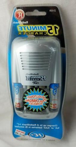 radio shack ic3 15 minute battery charger