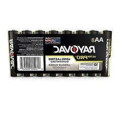 RayOVac Ultra Pro Alkaline Batteries AA, Fresh 8 Pack, Expir
