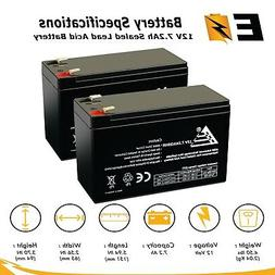 RAZOR E200 & E300S SCOOTER 12V 7.2ah Replacement Battery of