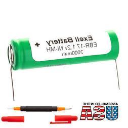 NEW Razor Battery For Braun 5477, 5478, 5492, 5501, 5502, 55