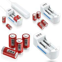 EBL RCR123A Rechargeable Batteries Arlo Li-ion 3.7V Battery.