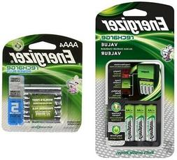 Energizer Recharge Value Charger with 4 AA and 4 AAA recharg