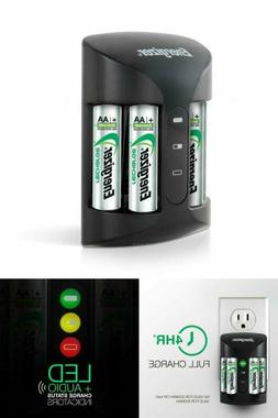 Rechargeable AA Batteries NiMH Double 4 A Battery rapid Pro
