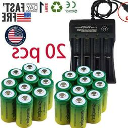 Rechargeable Batteries CR123A 3.7V  for Netgear Arlo Securit