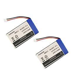 AOLIKES 3.7V Rechargeable Polymer Battery for DXR-8, 1500mAh
