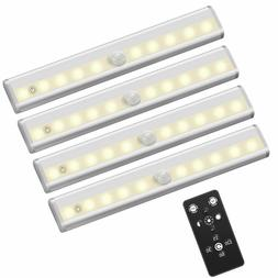 Remote Control LED Lights Under Cabinet Lighting Bar Wireles