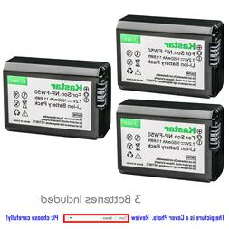 Kastar Replacement Battery for Sony NP-FW50 BC-TRW & NEX-7 N