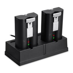 Ring Battery Charging Station and Rechargeable Battery Bundl