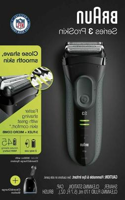 Braun Series 3 ProSkin 3050cc Electric Shaver For Men - New!