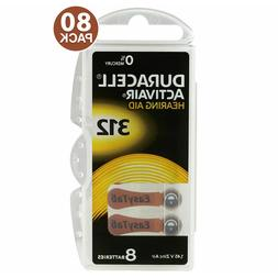 Duracell Size 312 PR41 P312 Hearing Aid Batteries - Closeout