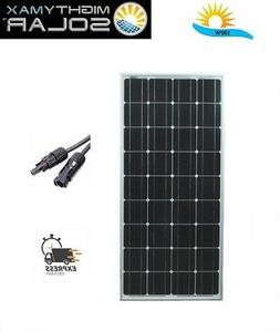 Mighty Max 100 Watts 100W Solar Panel 12V Mono Off Grid Batt