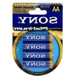 Sony Stamina Platinum Alkaline AA Batteries