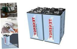 Tenergy9V NiMH Battery, High Capacity 250mAhRechargeable