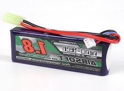 New Turnigy nano-tech 1800mah 2S 25C 50C 7.4V Lipo Battery A