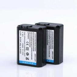 two decoded np fw50 li ion battery