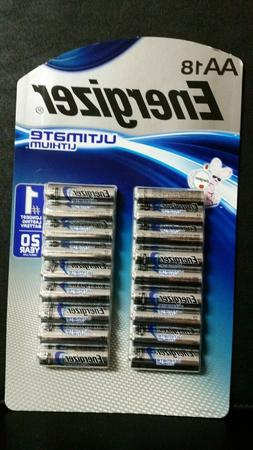 Energizer Ultimate Lithium AA Batteries   ~  Exp 2037