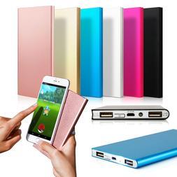 Ultra Thin 20000mAh Portable External Battery Charger Power