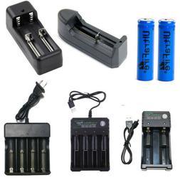 1800mAh 14500 Battery 3.7V Li-ion Rechargeable Batteries+Sma