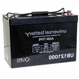 UPG UB121000 12V 100AH AGM SLA Battery for RENOGY PV Solar P
