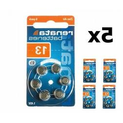 US NK397-5x Renata ZA 13 1.45V Hearing Aid Battery 5x Bliste