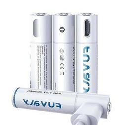USB Rechargeable Lithium AAA Batteries Triple A Li-ion Batte